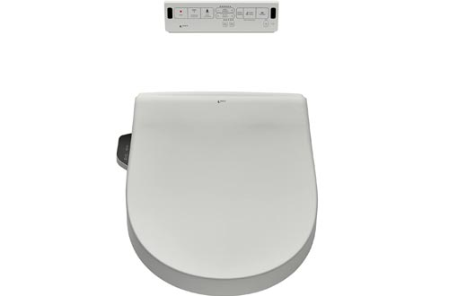 INAX 8012A70GRC-415 Heated Shower Toilet Bidet Seats with Remote Control + Dual Nozzle, White