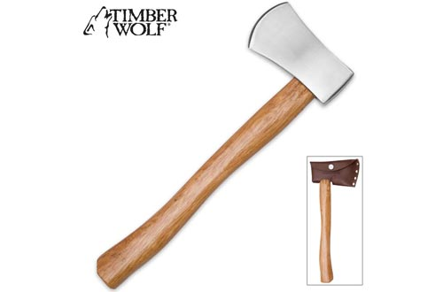Timber Wolf Battle Throwing Axes