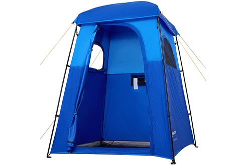 KingCamp Oversize Outdoor Easy Up Portable Dressing Changing Room Showers Privacy Shelter Tent