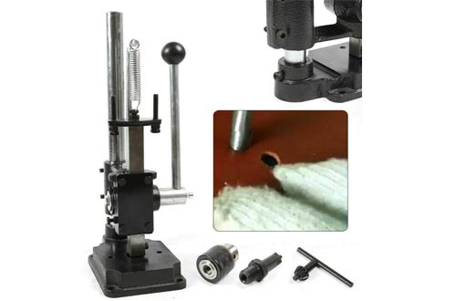 Ethedeal Manual Mini Stamping Machines, Leather Imprinting Machines, DIY Leather Punching Embossing Drilling