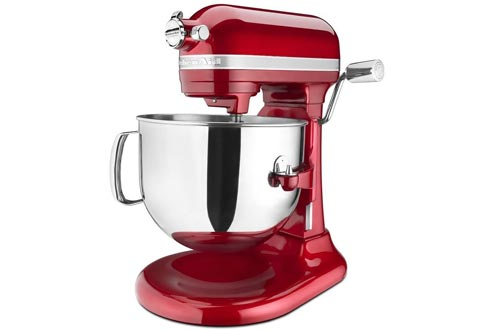KitchenAid KSM7586PCA 7-Quart Pro Line Stand Mixers Candy Apple Red