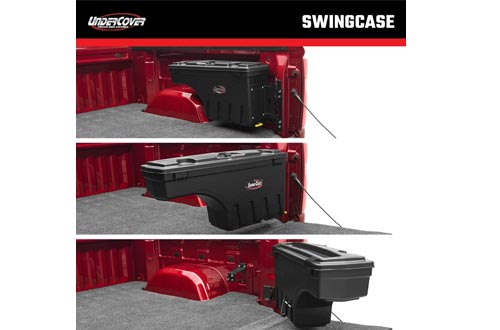 Undercover SwingCase Truck Bed Storage Boxes   SC203D   Fits 15-20 Ford F-150 Drivers Side