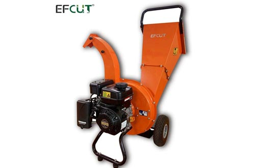 EFCUT C30 Mini Wood Chippers Shredder Mulcher 7 HP 212cc Heavy Duty Engine Gas Powered 3 inch Max Wood Diameter Capacity Reduction Rate 20:1 3-Year Warranty, EPA/CARB Certified