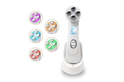 5 IN 1 High Frequency Skin Tightening Device Firming Facial Lifting Machines For Removing Wrinkles Anti Aging Beauty Tool