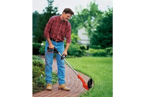 Black & Decker 12-Inch 3.5-AMP Electric Bump Feed String Trimmer and Edgers ST4500