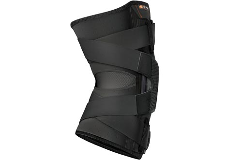 Hinged Knee Braces: Shock Doctor Maximum Support Compression Knee Braces - for ACL/PCL Injuries, Patella Support, Sprains, Hypertension and More for Men and Women