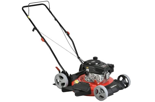 PowerSmart DB2321CR Gas Push Lawn Mowers, Red/Black