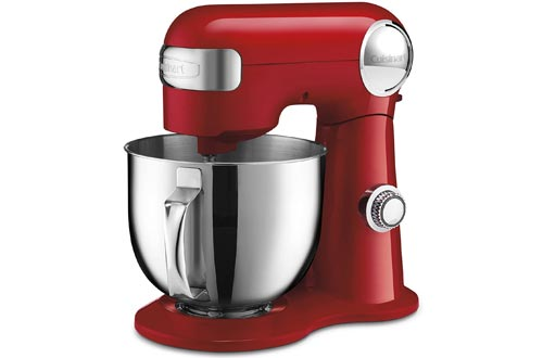 Cuisinart SM-50R 5.5-Quart Stand Mixers, Ruby Red