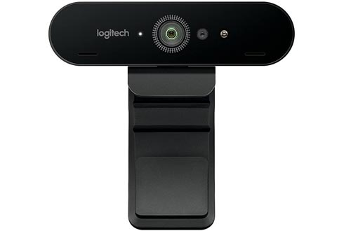 Logitech BRIO Ultra HD Webcams for Video Conferencing, Recording, and Streaming - Black