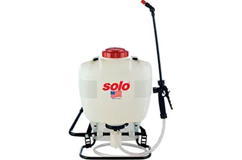 Solo 425 4-Gallon Professional Piston Backpack Sprayers, Wide Pressure Range up to 90 psi