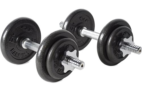 CAP Barbell Adjustable Dumbbell Sets, 40 to 200 Pounds