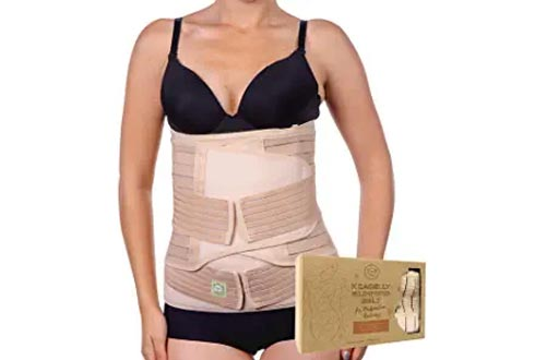 3 in 1 Postpartum Belly Support Recovery Wraps - Belly Band For Postnatal, Pregnancy, Maternity - Girdles For Women Body Shaper - Tummy Bandit Waist Shapewear Belt