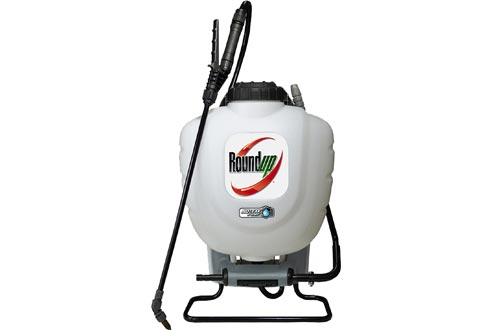 Roundup 190327 No Leak Pump Backpack Sprayers for Herbicides, Weed Killers, and Insecticides