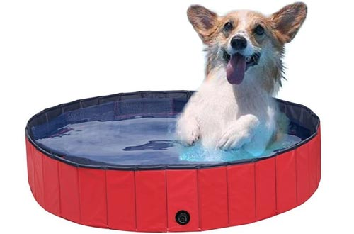 NACOCO Foldable PVC Dog Cat Water Pools Pet Outdoor Swimming Playing Pond Dogs Grooming Shower & Bath Accessories in Summer