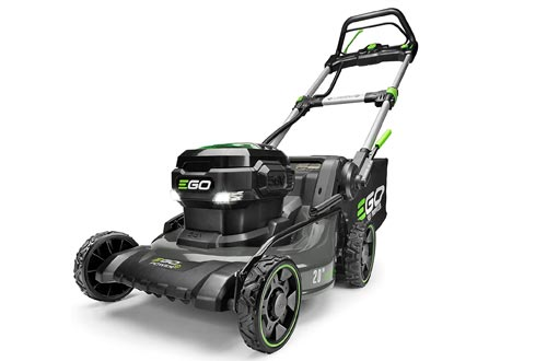 EGO Power+ LM2020SP 20-Inch 56-Volt Lithium-ion Brushless Walk Behind Steel Deck Self-Propelled Lawn Mowers - Battery and Charger Not Included