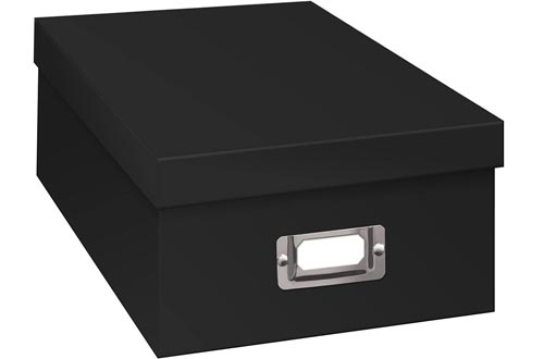 Pioneer Photo Albums Photo Storage Boxes, 1, Black
