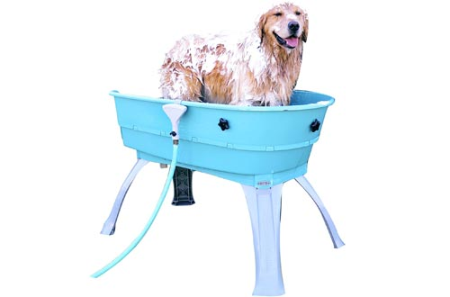 Booster Bath Elevated Pet Bathing Large …