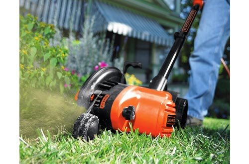 BLACK+DECKER 2-in-1 String Trimmer / Edgers and Trencher, 12 -Amp